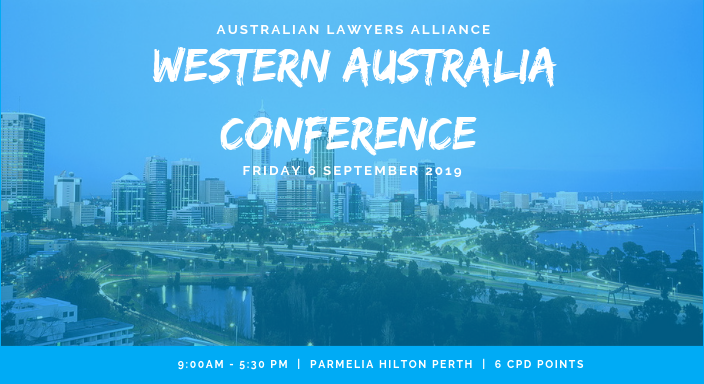Western Australia Conference 2019