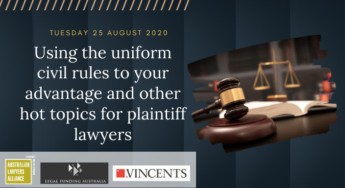 Using the Uniform Civil Rules to your advantage Panel