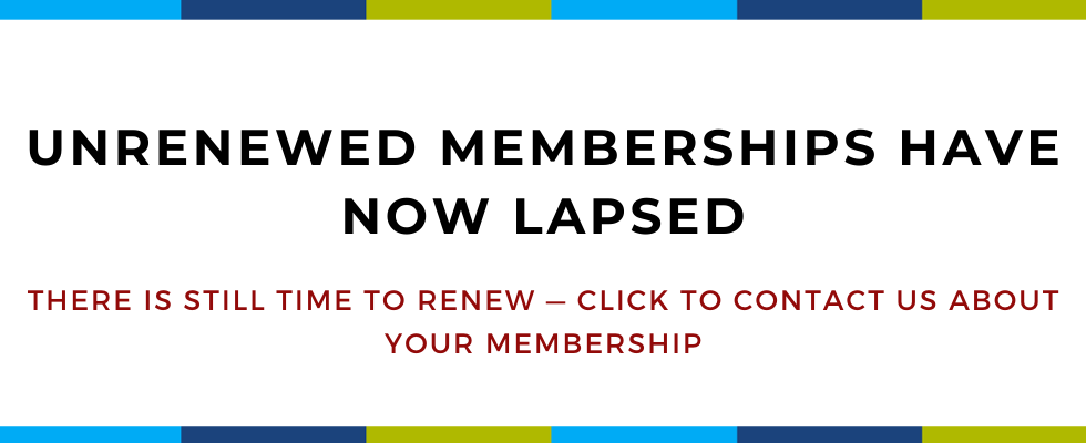 01 - HOME - Unrenewed memberships have now lapsed.